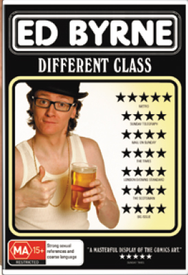 Ed Byrne: A Different Class on DVD image