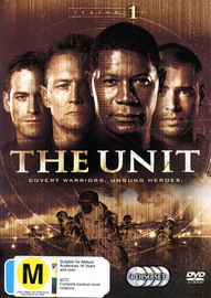 The Unit - Season 1 (4 Disc Set) on DVD image