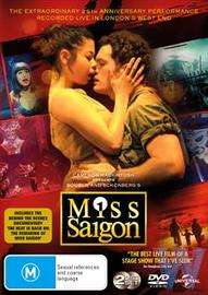 Miss Saigon Live! DVD