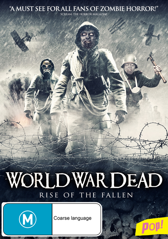 World War Dead: The Rise of the Fallen on DVD