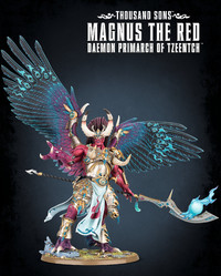 Warhammer 40,000 Thousand Sons Magnus the Red