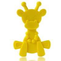 Little Bam Bam Silcone Teether - Yellow