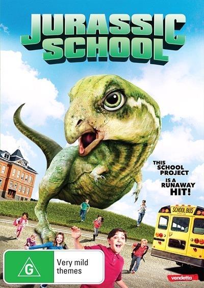 Jurassic School on DVD