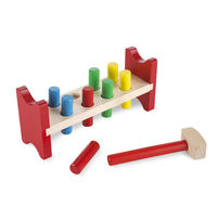 Melissa & Doug: Deluxe Wooden Pound-A-Peg image