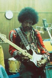 Jimi Hendrix Maxi Poster - Studio (953)