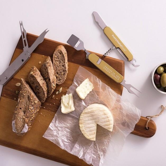 Cheese & Wine Multi Tool Gold