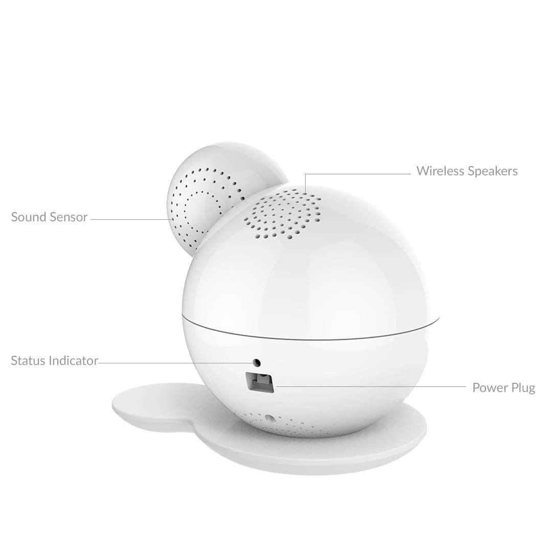 iBaby M7 Lite Baby Monitor image