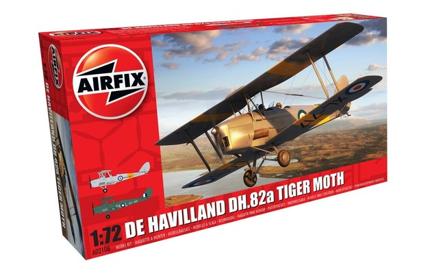 Airfix 1/72 De Havilland DH.82a Tiger Moth - Model Kit