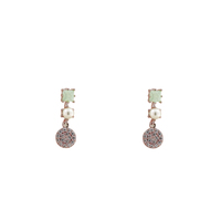 Short Story: Drop Earring Dainty Rose Gold