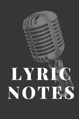 Lyric Notes by Tk Andersen