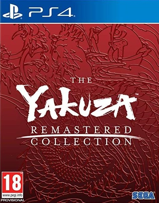 The Yakuza Remastered Collection for PS4