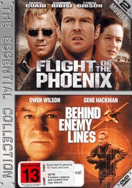 Flight Of The Phoenix / Behind Enemy Lines - The Essential Collection (2 Disc Set) on DVD image