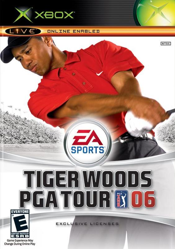 Tiger Woods PGA Tour 06 for Xbox