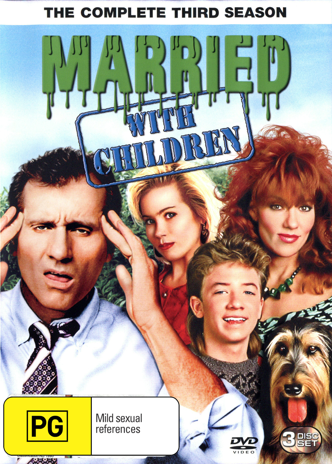 Married With Children - The Complete 3rd Season on DVD image
