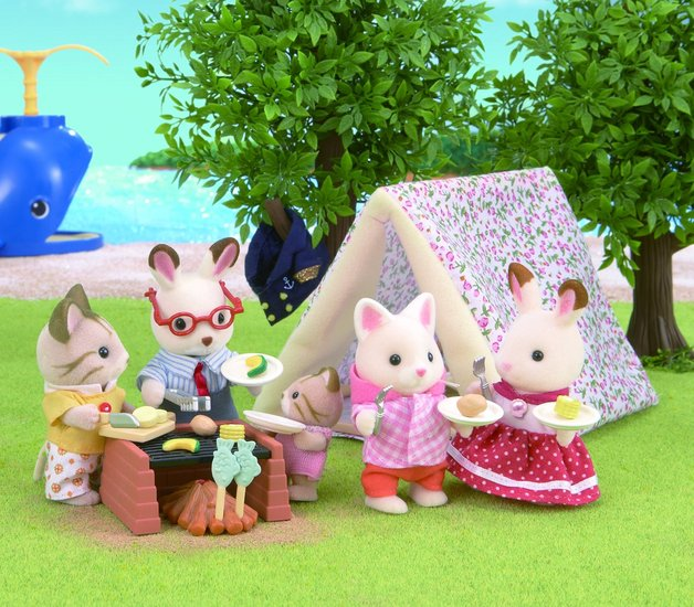 Sylvanian Families: Seaside Camping Set
