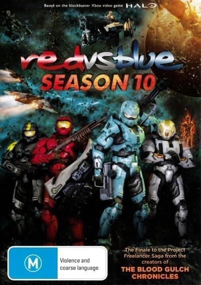 Red vs. Blue - Season Ten on DVD
