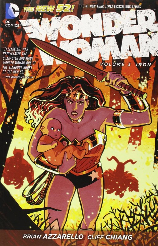 Wonder Woman Vol. 3 Iron (The New 52) by Brian Azzarello