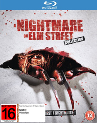 Nightmare On Elm Street 1-7 Collection on Blu-ray