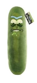 "Rick & Morty: Pickle Rick 18"" Plush - Biting Lip image"