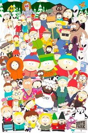 South Park Collage Maxi Poster (844)