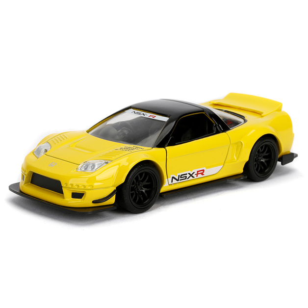 Jada 1/32 Jdm NSX R 2002 (Yellow) - Diecast Model