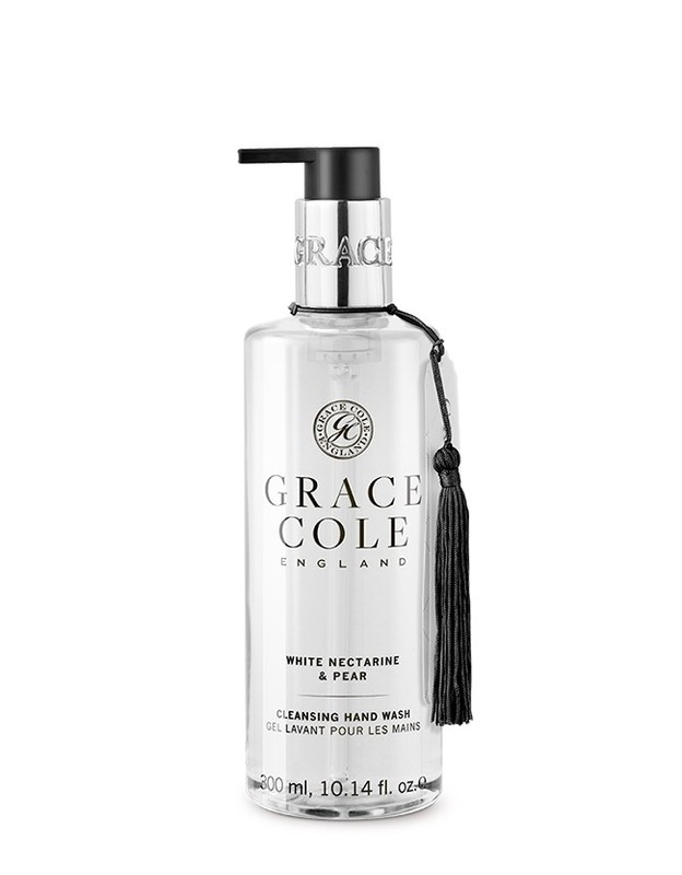 Grace Cole: Hand Wash - White Nectarine & Pear (300ml)