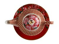 Maxwell & Williams Teas & C's: Silk Road Tea For One With Infuser - Cherry Red