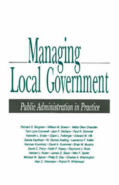 Managing Local Government image