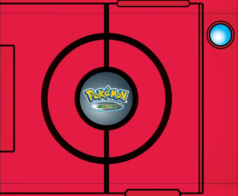 Pokemon Johto Collection Collector S Pokedex Book Images At Mighty Ape Nz