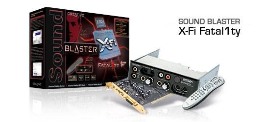 CREATIVE LABS SoundBlaster X-Fi Fatality