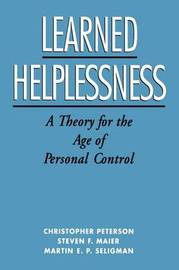 Learned Helplessness by Christopher Peterson image