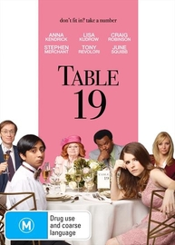 Table 19 on DVD image
