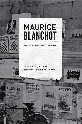 Political Writings, 1953-1993 by Maurice Blanchot
