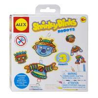 Alex: Shrinky Dinks - Robots