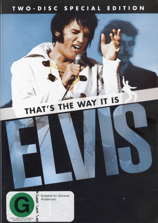 Elvis - That's The Way It Is: Special Edition (2 Disc Set) on DVD image