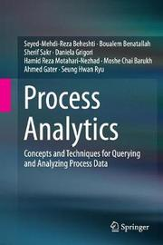 Process Analytics by Seyed-Mehdi-Reza Beheshti image