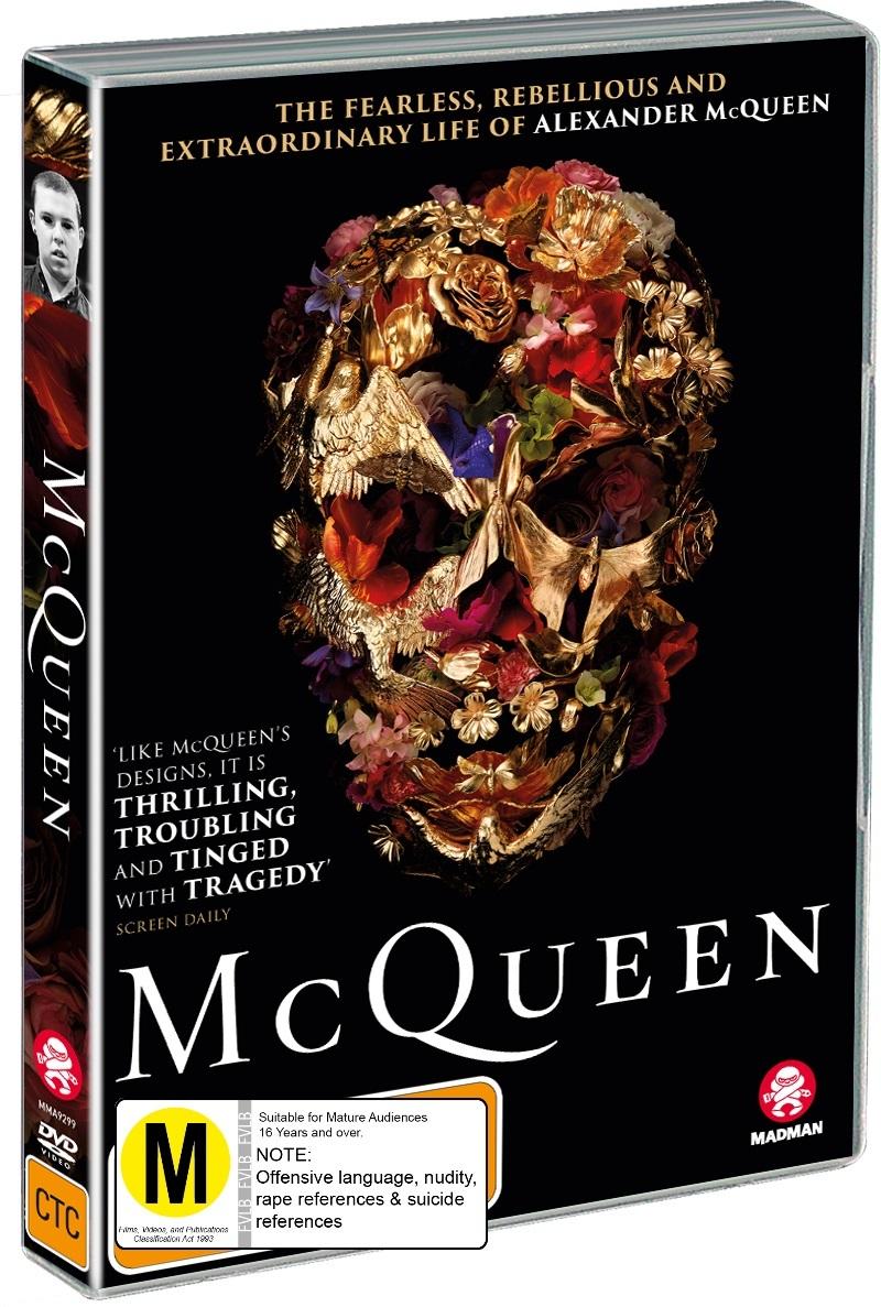 McQueen on DVD image