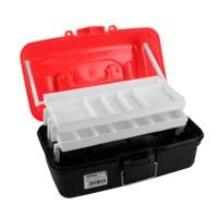 Pro Hunter Two Tray Tackle Box - Red/Orange