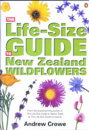 The Life-size Guide to New Zealand Wildflowers by Andrew Crowe image