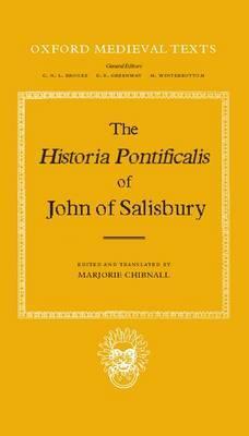 The Historia Pontificalis by John of Salisbury