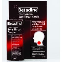 Betadine Sore Throat Gargle (15ml Bottle)