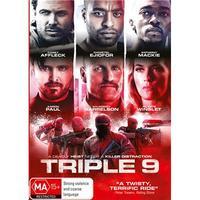 Triple 9 on DVD