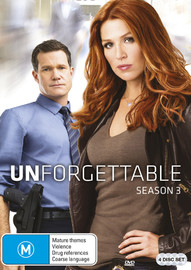 Unforgettable - Season 3 on DVD