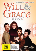 Will & Grace - Season 6 (4 Disc Set) on DVD