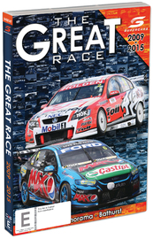 The Great Race: 2009 to 2015 Supercars on DVD