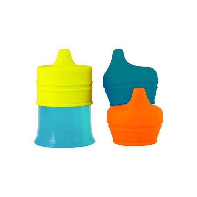 Boon Snug Spout with Cup - Green/Blue/Orange