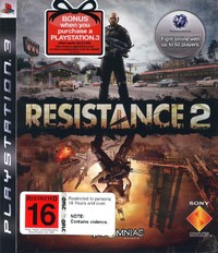 Resistance 2 (ex shelf stock) for PS3