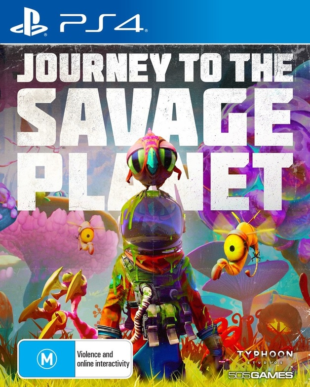 Journey to the Savage Planet for PS4