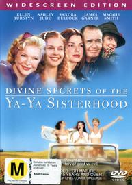 Divine Secrets of the Ya Ya Sisterhood on DVD image
