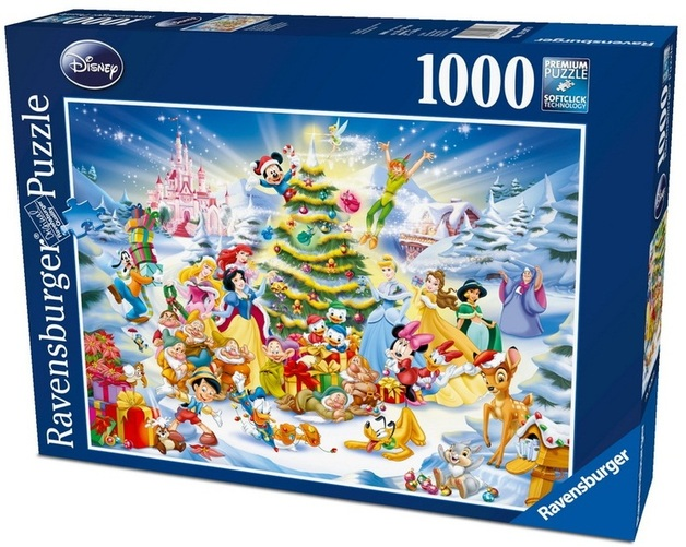 Ravensburger 1000 Piece JIgsaw Puzzle - Disney Christmas Eve